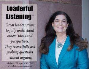 Leaderful Listening