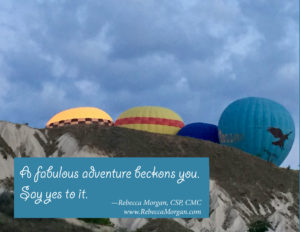 """Say """"Yes"""" to Beckoning Adventures"""